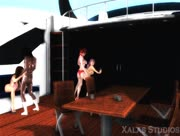 Xalas Studios Yacht Party Orgy